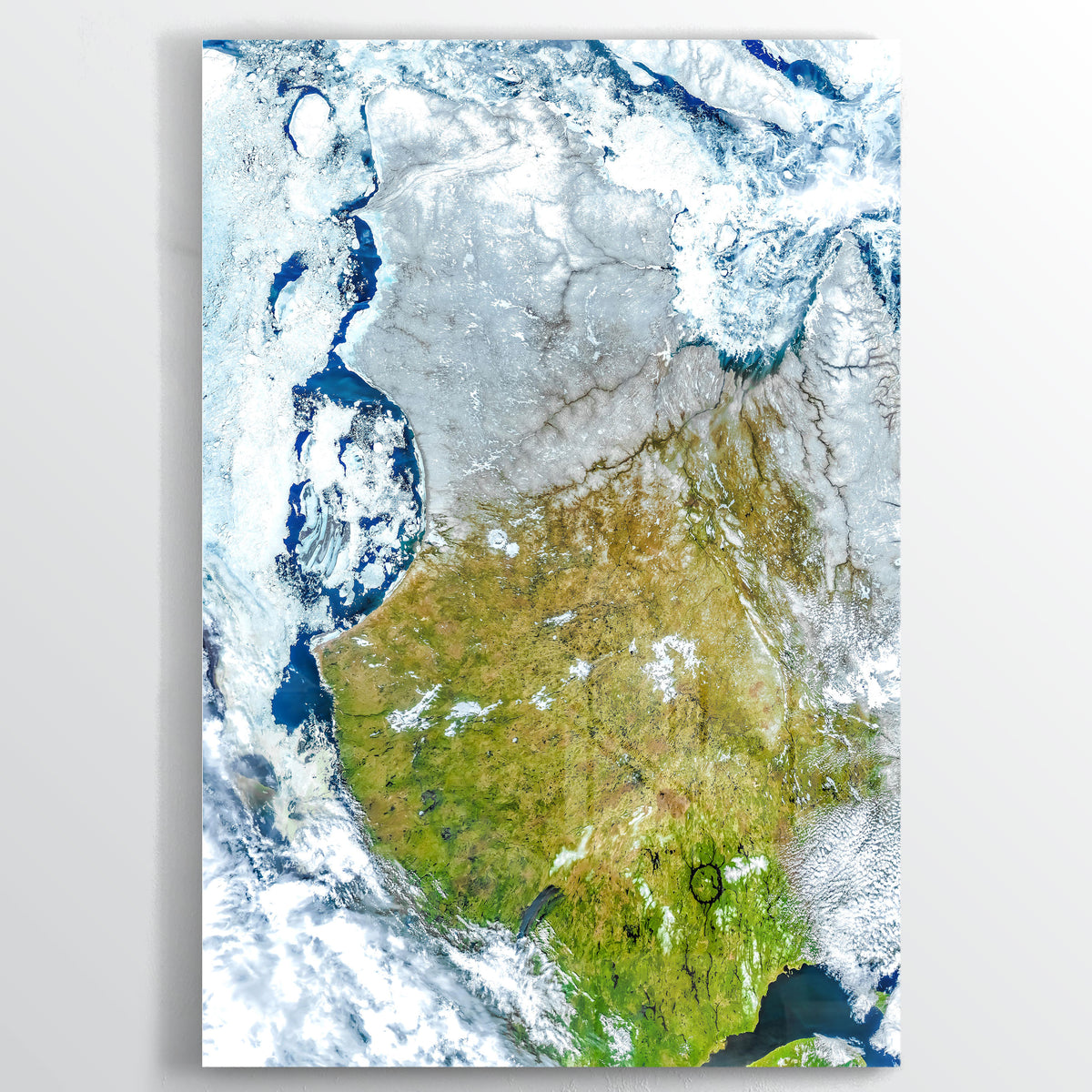 Northern Canada Earth Photography - Floating Acrylic Art