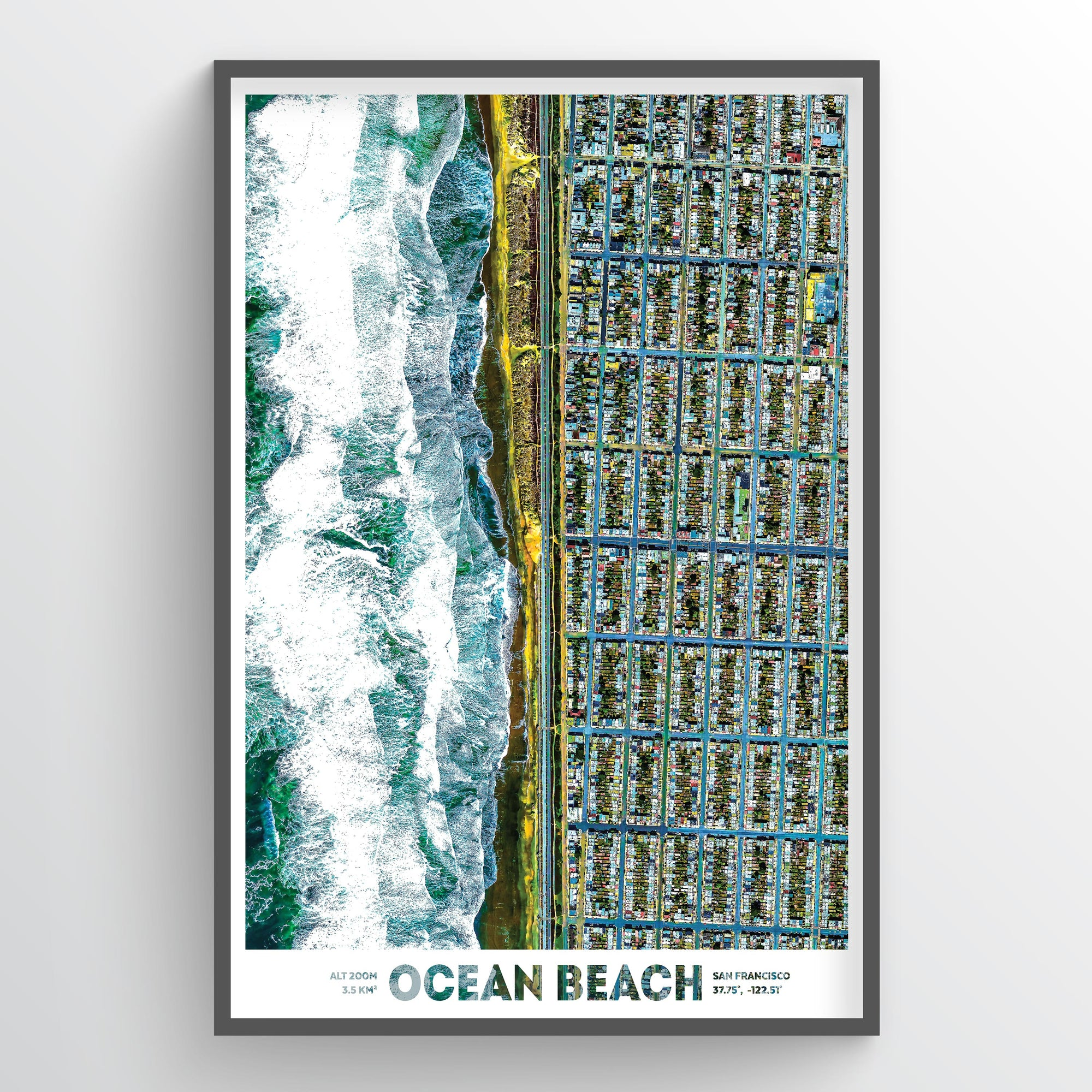 Ocean Beach San Francisco - Fine Art