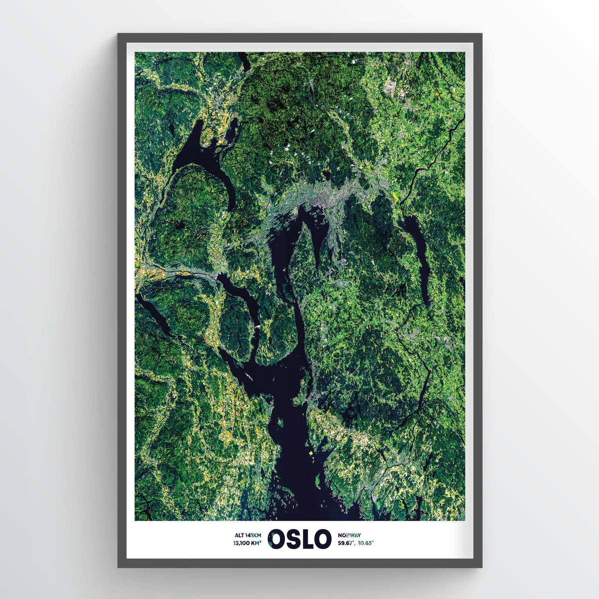 Oslo Norway - Fine Art