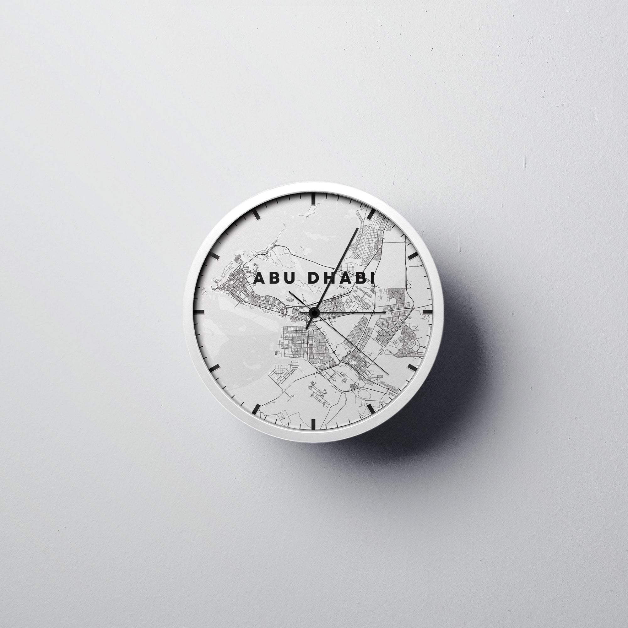 Abu Dhabi Wall Clock - Point Two Design