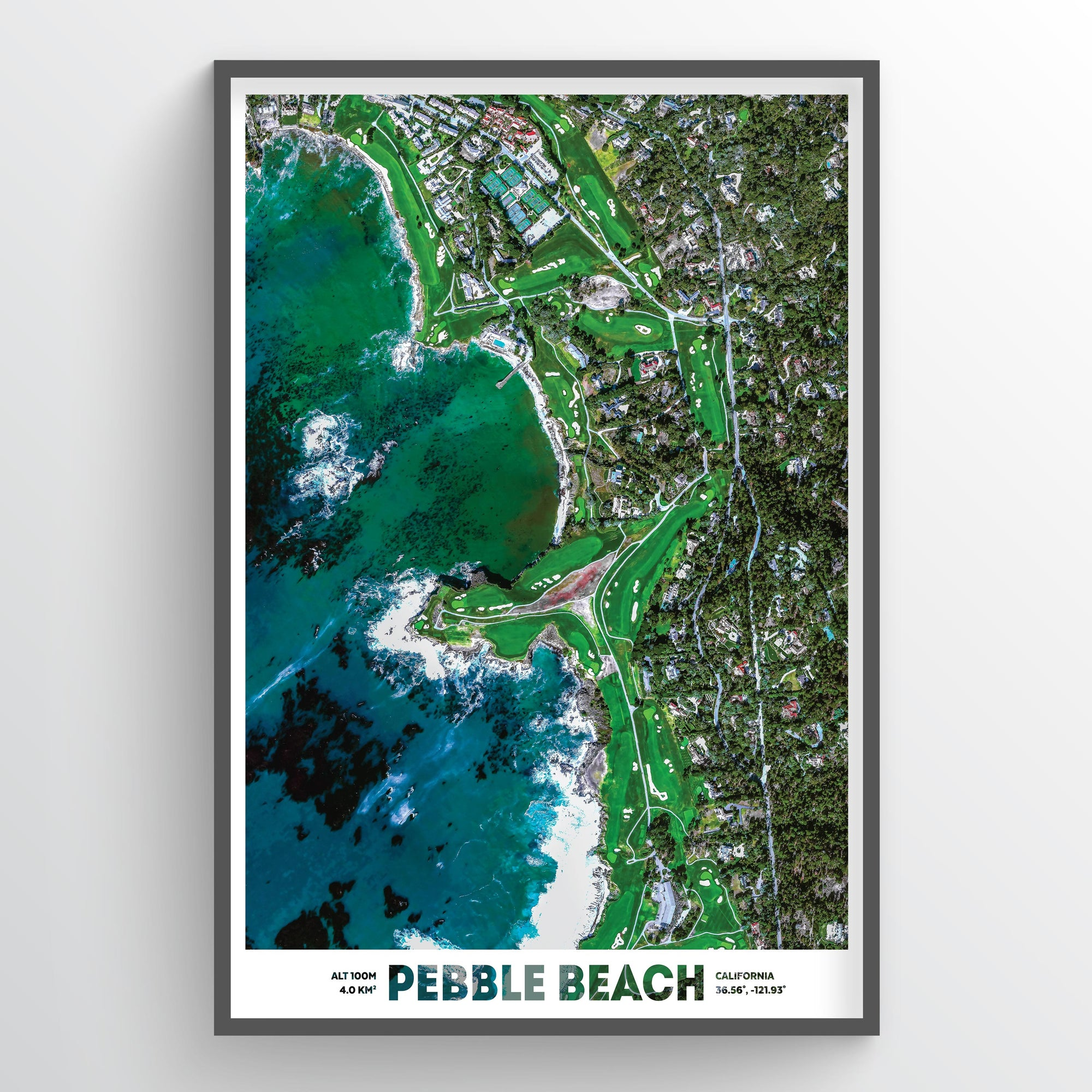 Pebble Beach - Fine Art