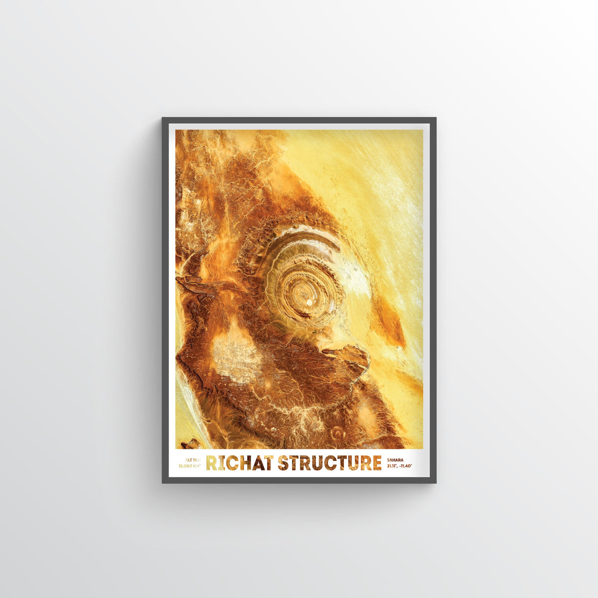 Richat Structure - Fine Art