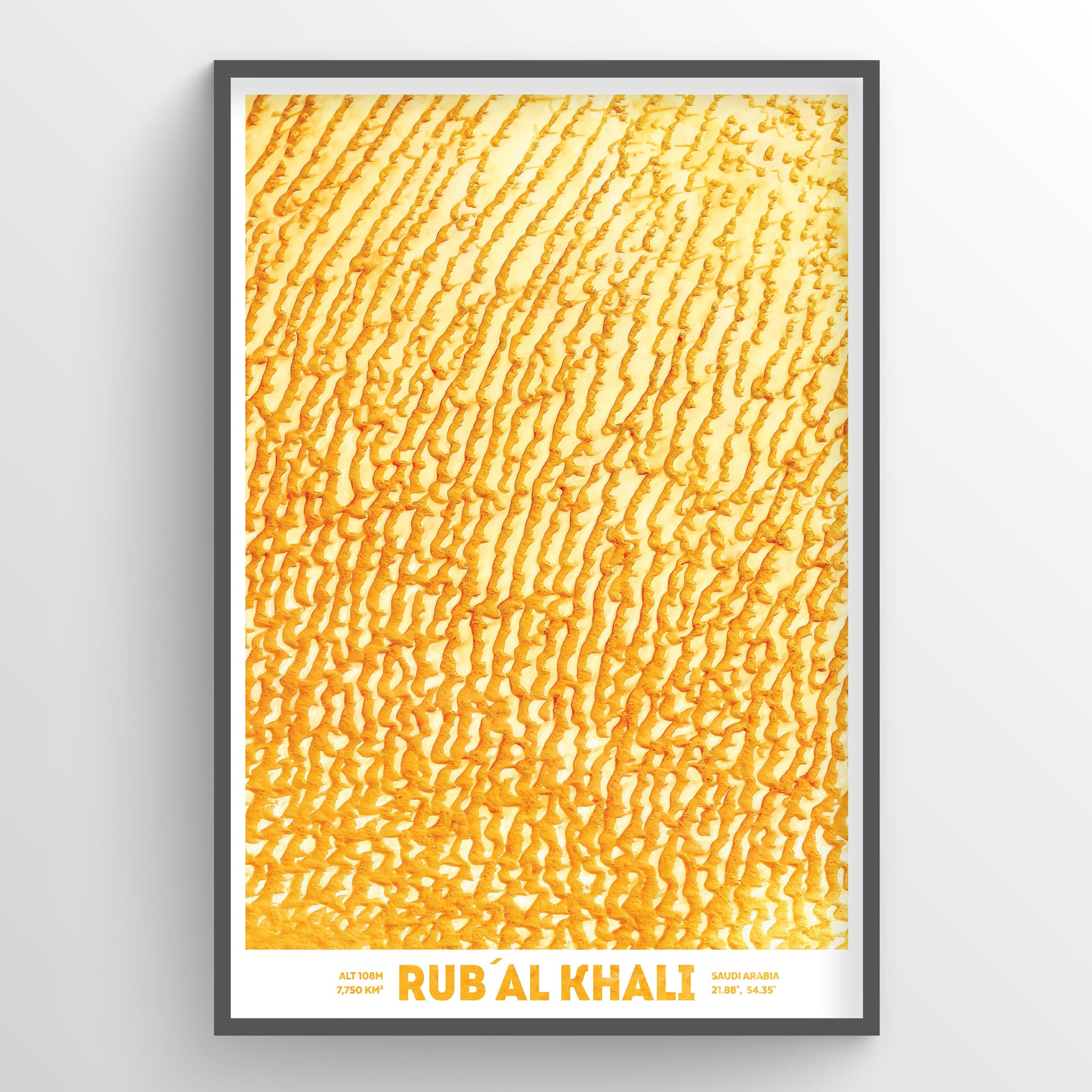 Rub' Al Khali - Fine Art
