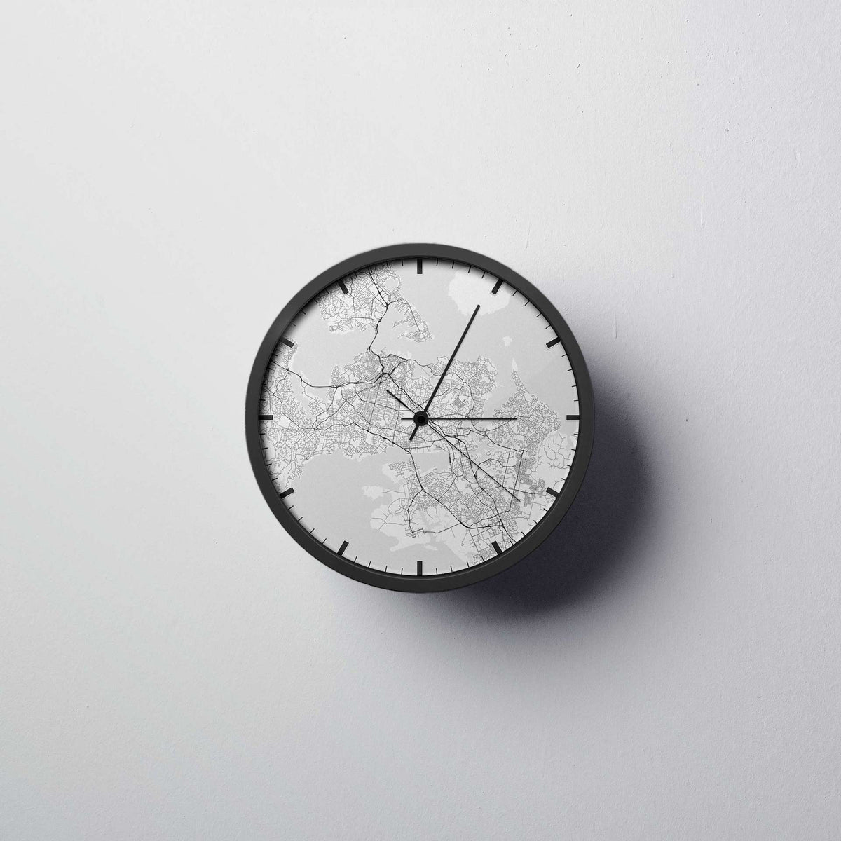 Auckland Wall Clock - Point Two Design