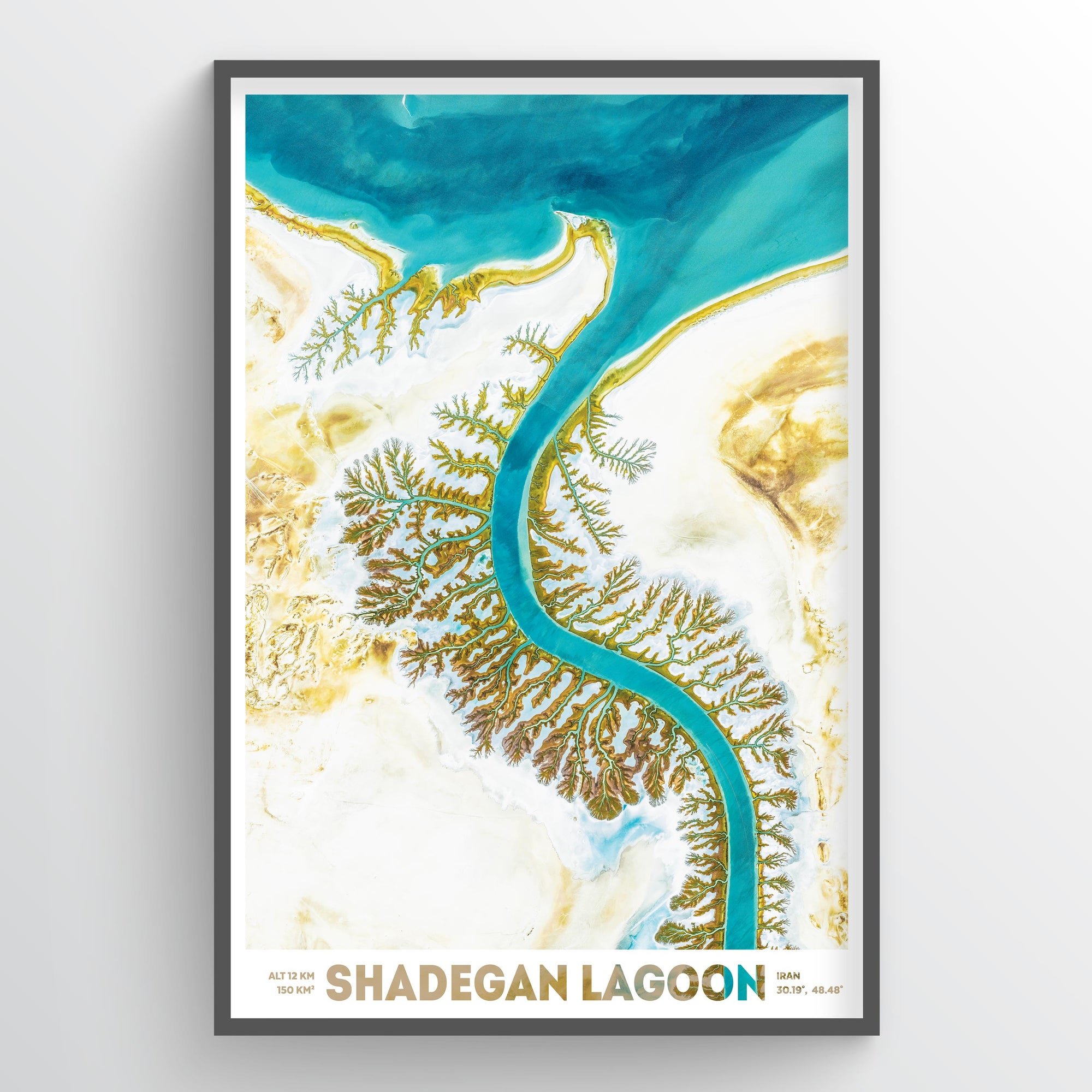 Shadegan Lagoon