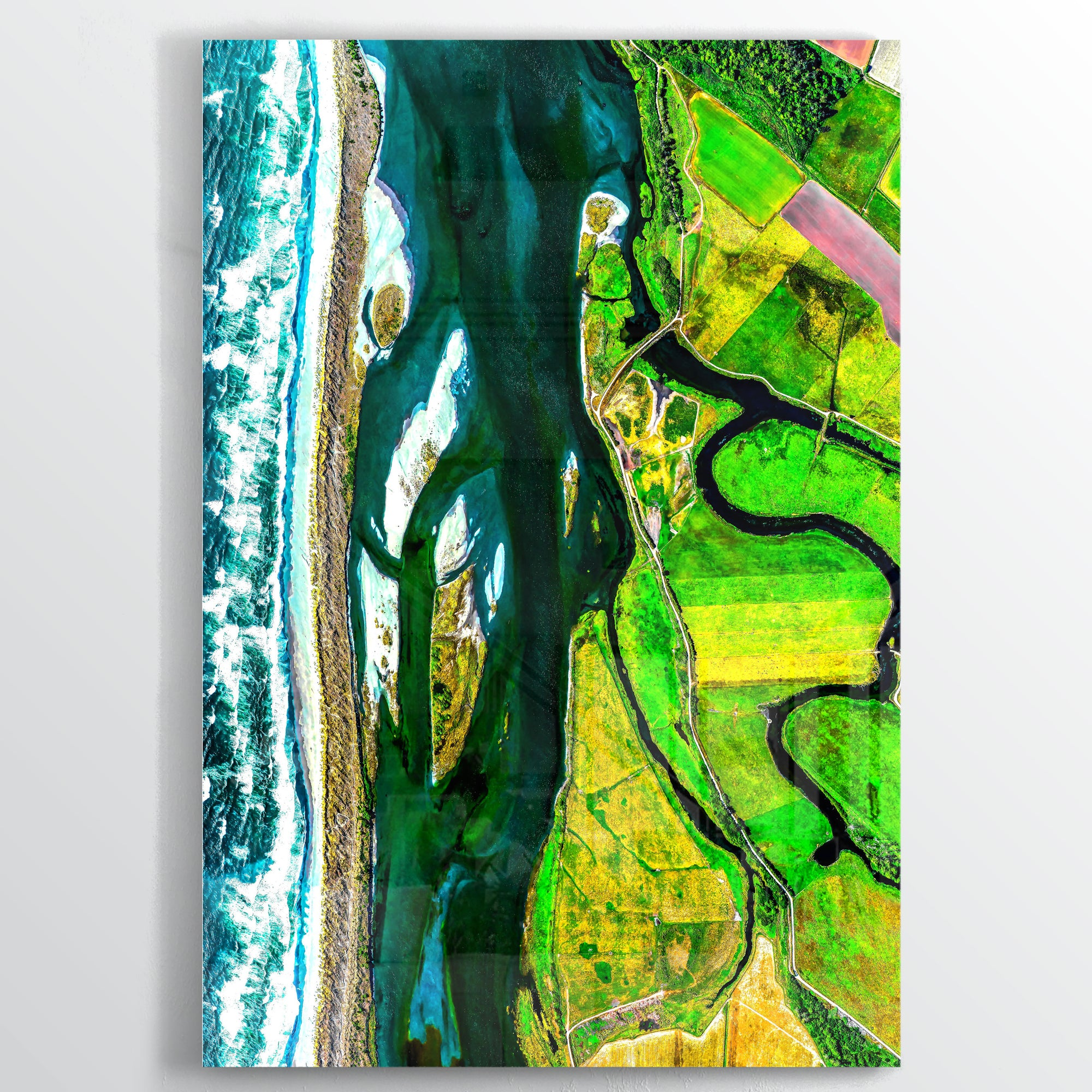 7668 Earth Photography - Floating Acrylic Art - Point Two Design