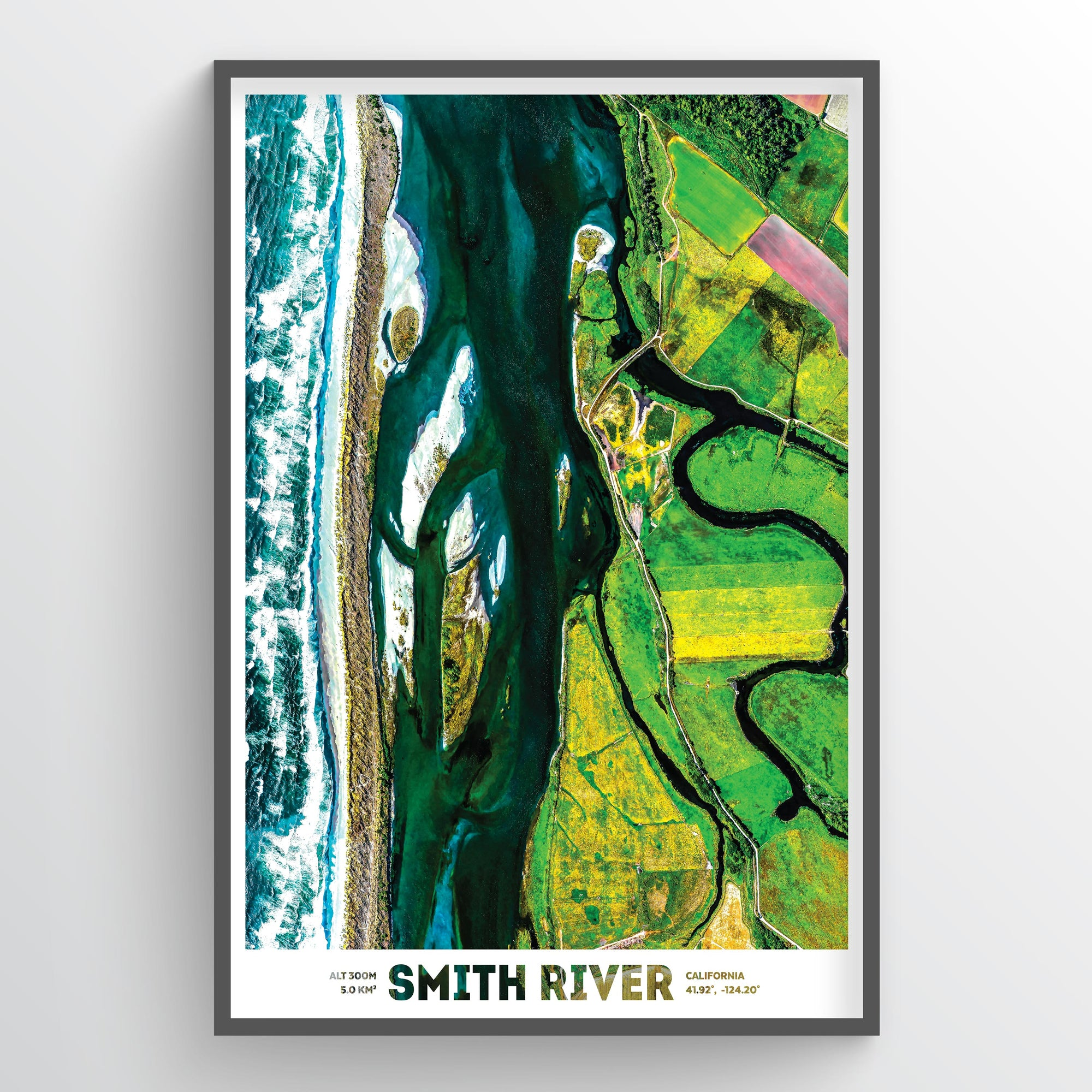 Smith River - Fine Art