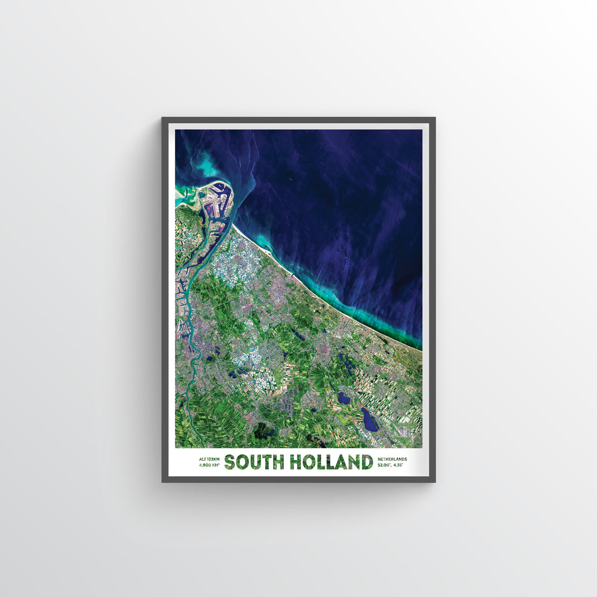 South Holland Earth Photography - Art Print