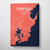 Terrigal City Map Canvas Wrap - Point Two Design