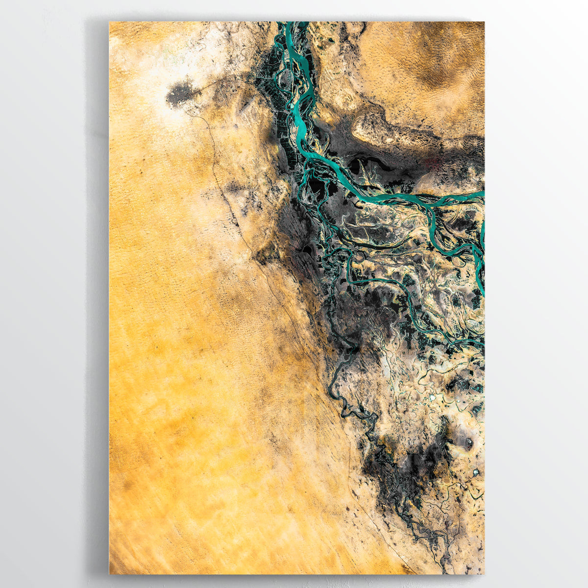 Timbuktu Earth Photography - Floating Acrylic Art