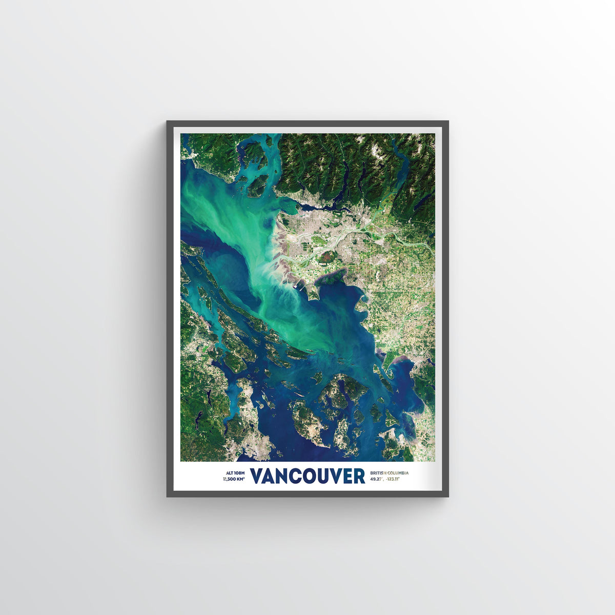 Vancouver Earth Photography - Art Print