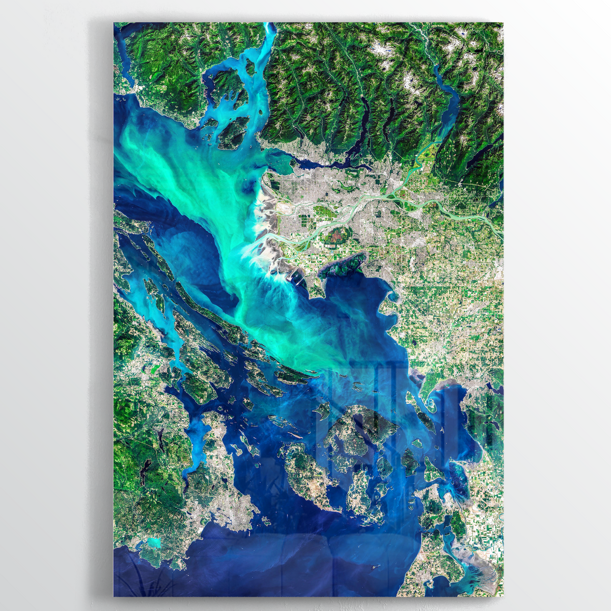 Vancouver Earth Photography - Floating Acrylic Art