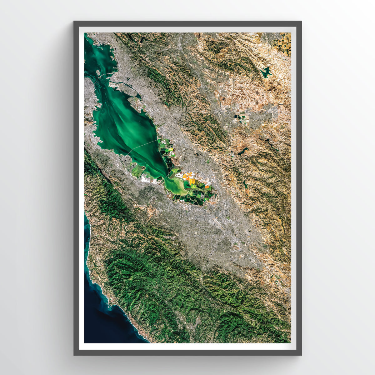 San Jose Earth Photography - Art Print