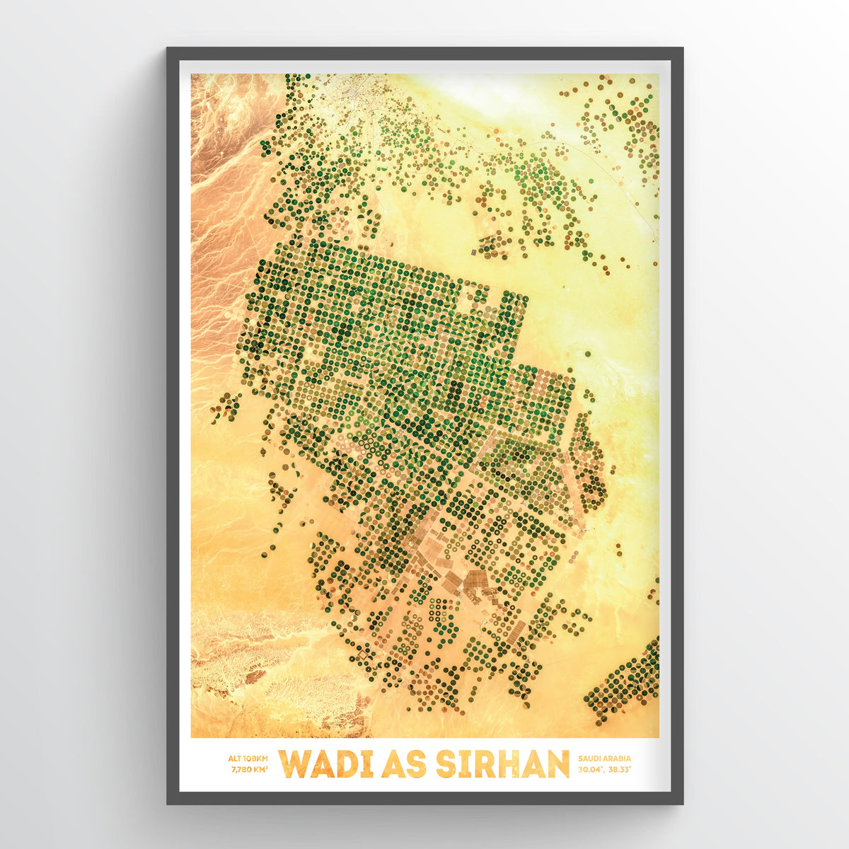 Wadi As-Sirhan - Fine Art