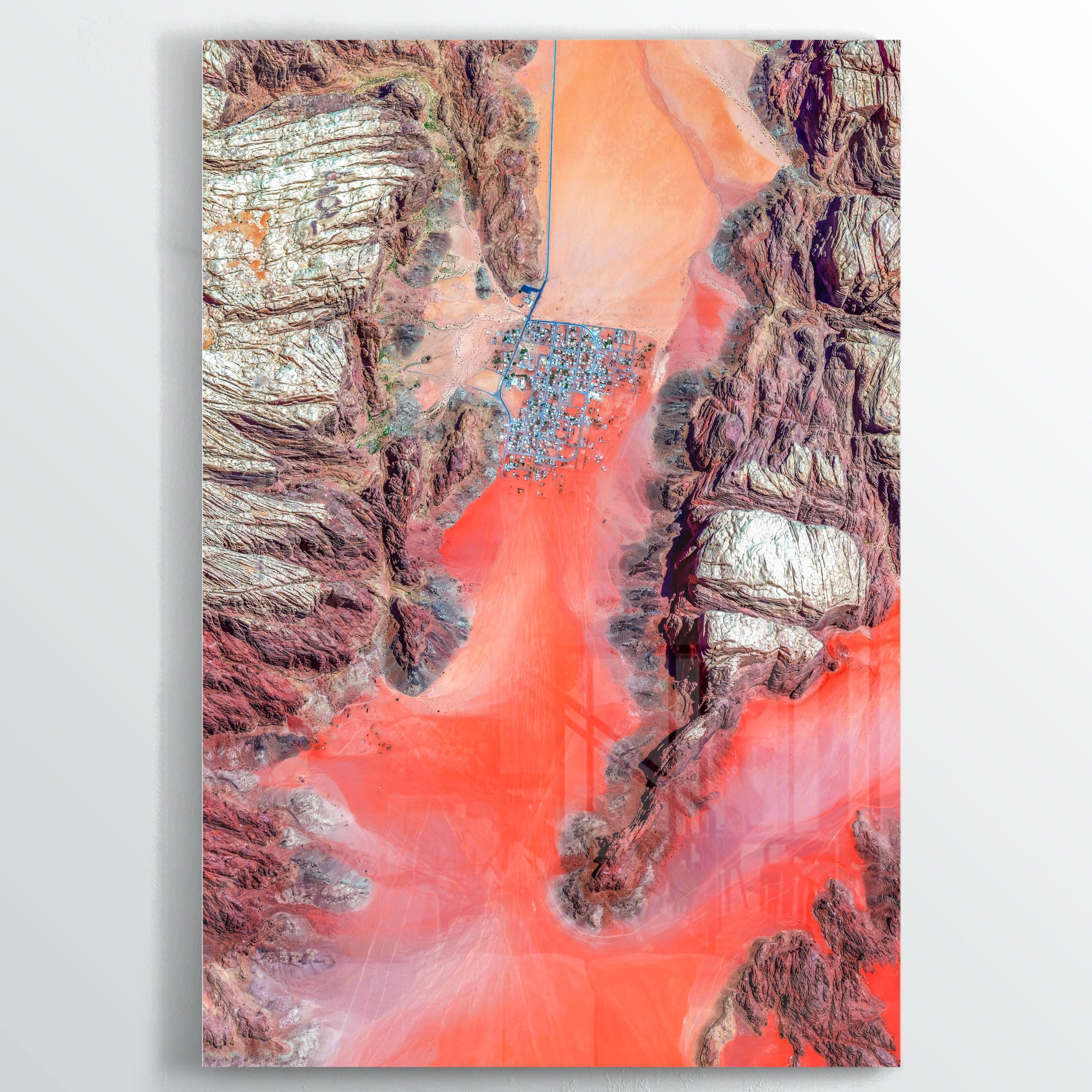 8932 Earth Photography - Floating Acrylic Art - Point Two Design
