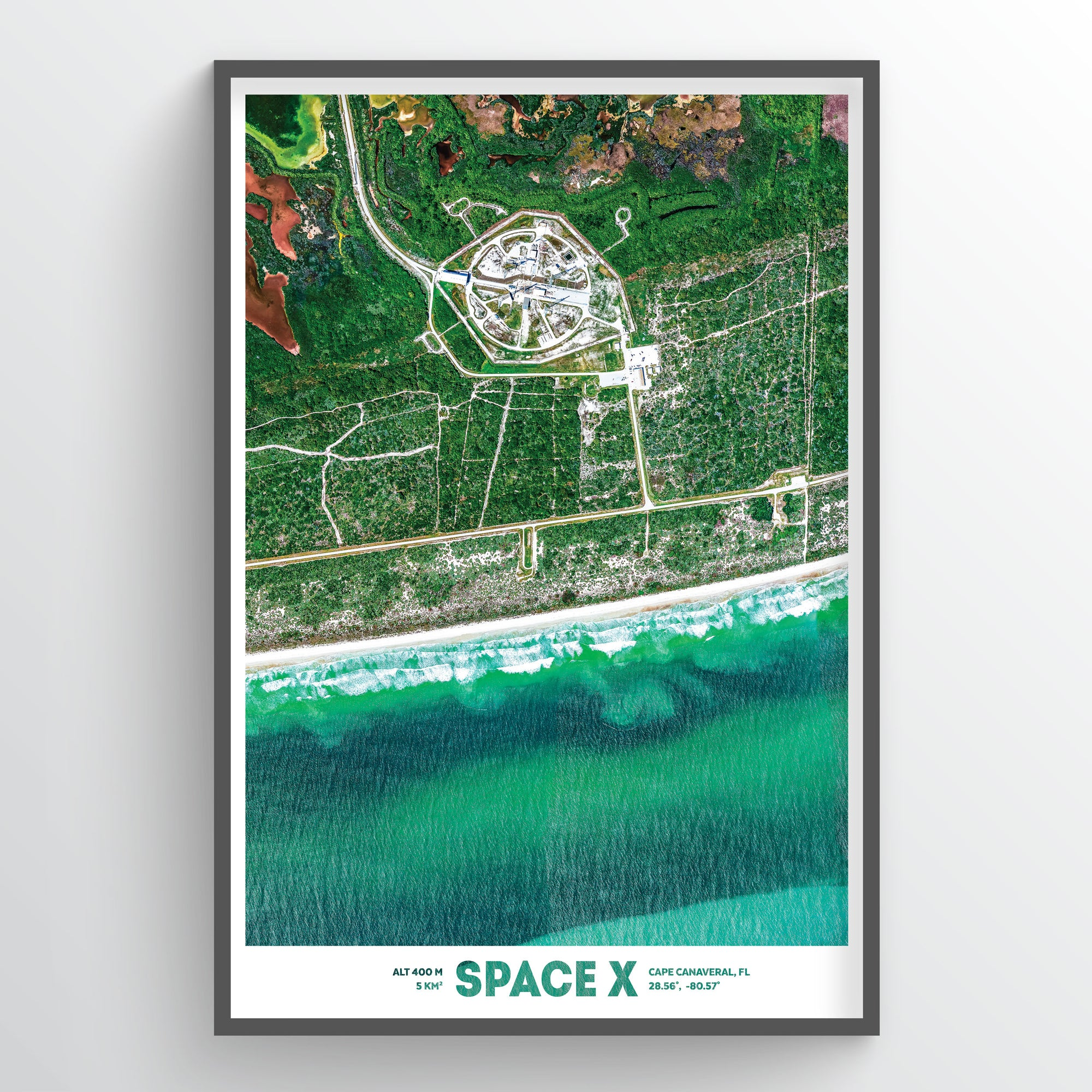 SpaceX Earth Photography - Art Print