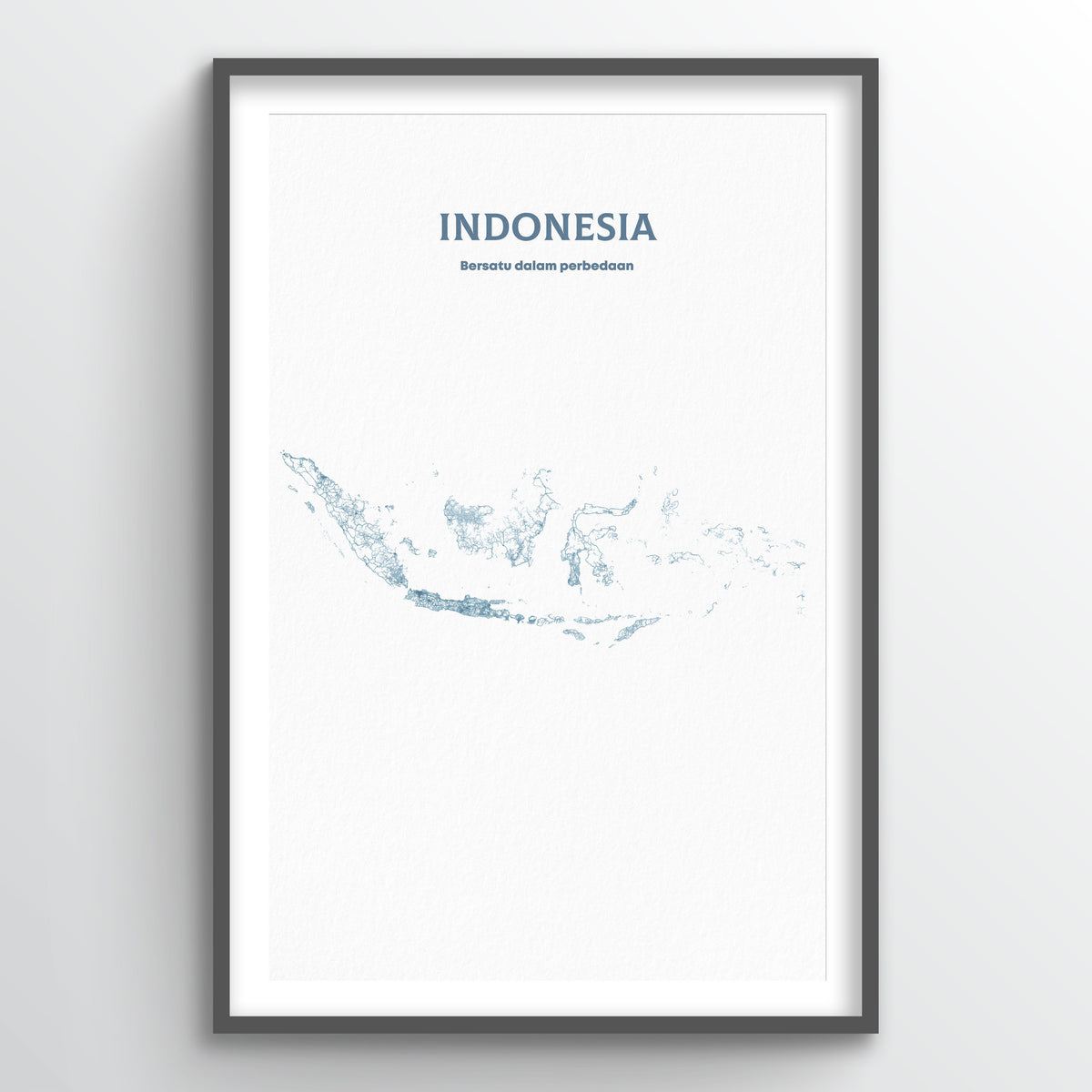 Indonesia - All Roads Art Print