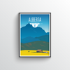 Alberta Province Print - Point Two Design