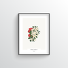 Crab Apple Botanical Art Print - Point Two Design
