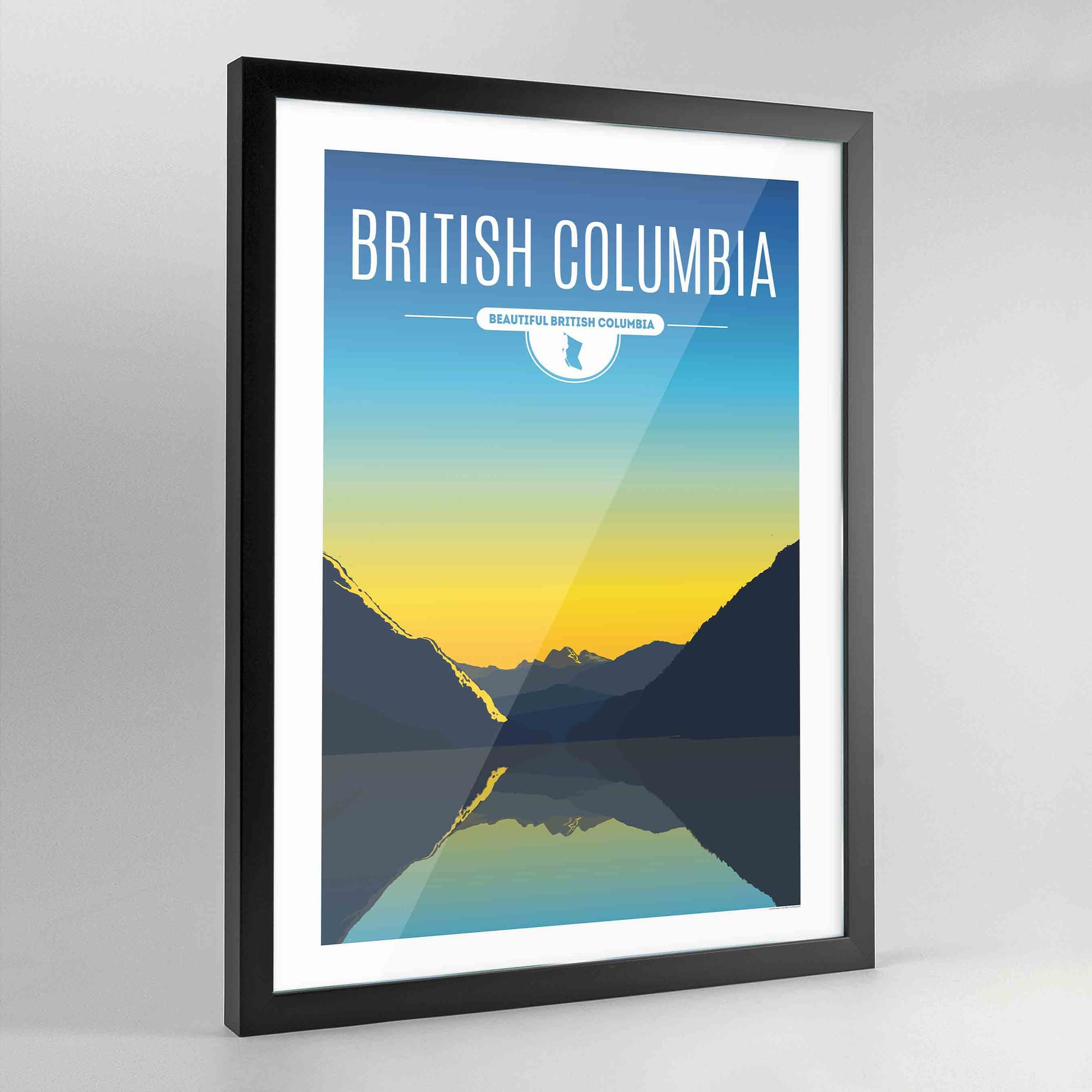 British Columbia Province Print - Point Two Design