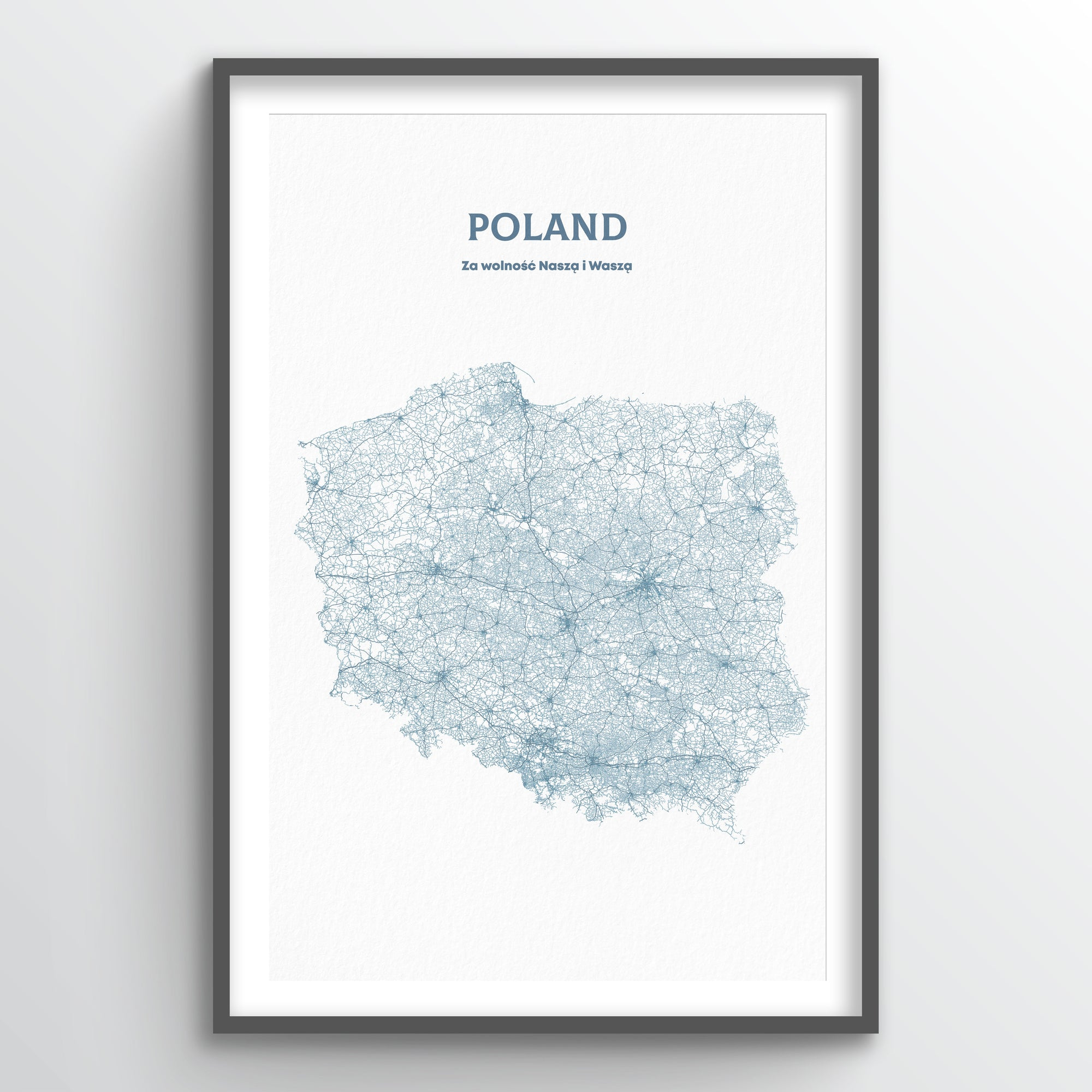 Poland - All Roads Art Print