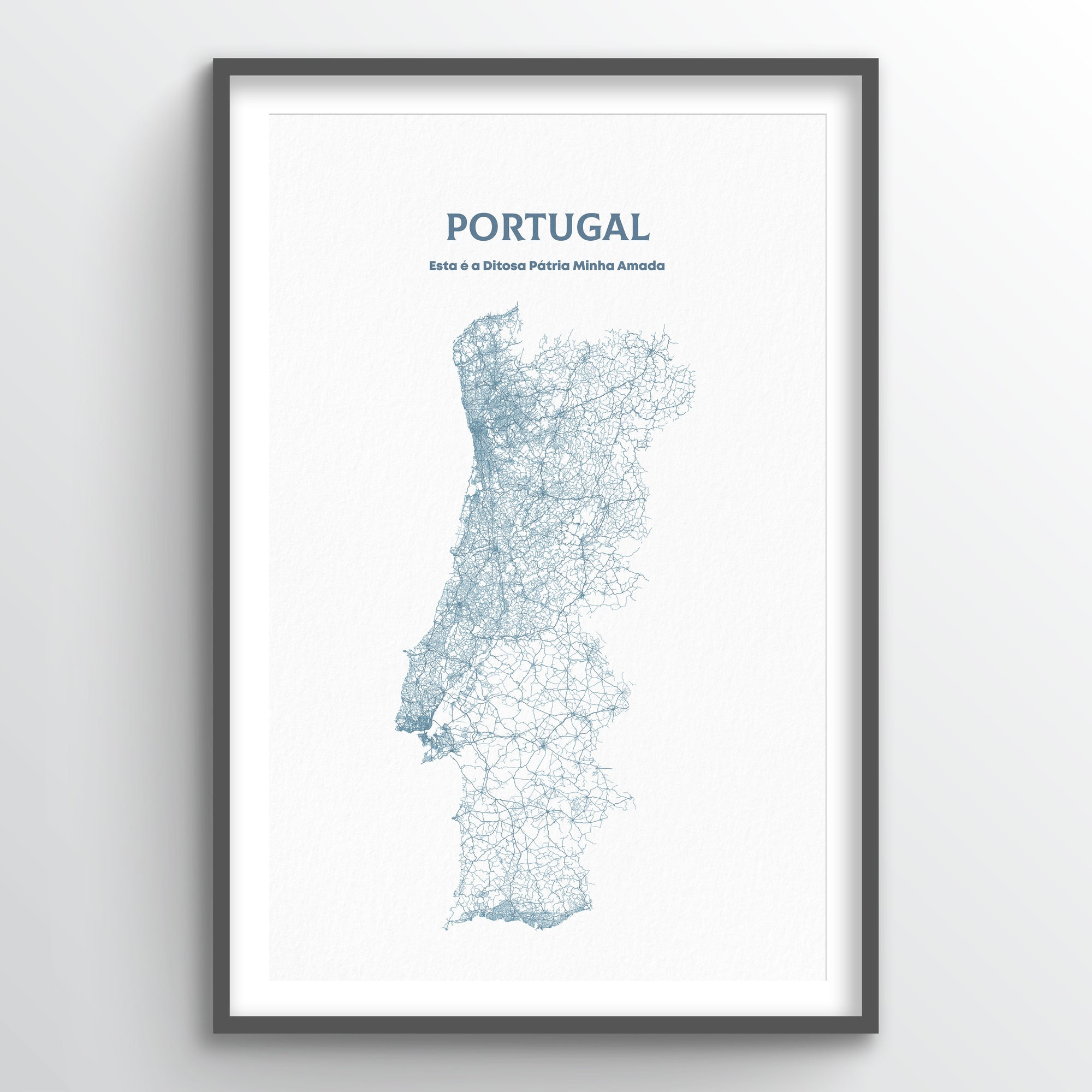 Portugal - All Roads Art Print