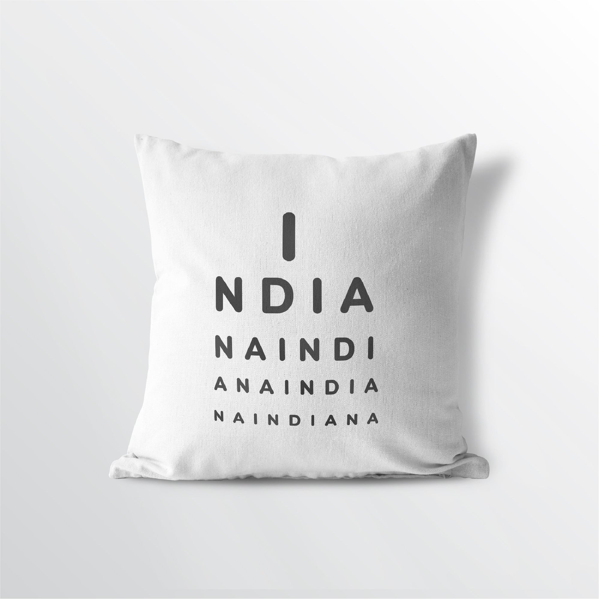 "Indiana ""Eye Exam"" Throw Pillow"