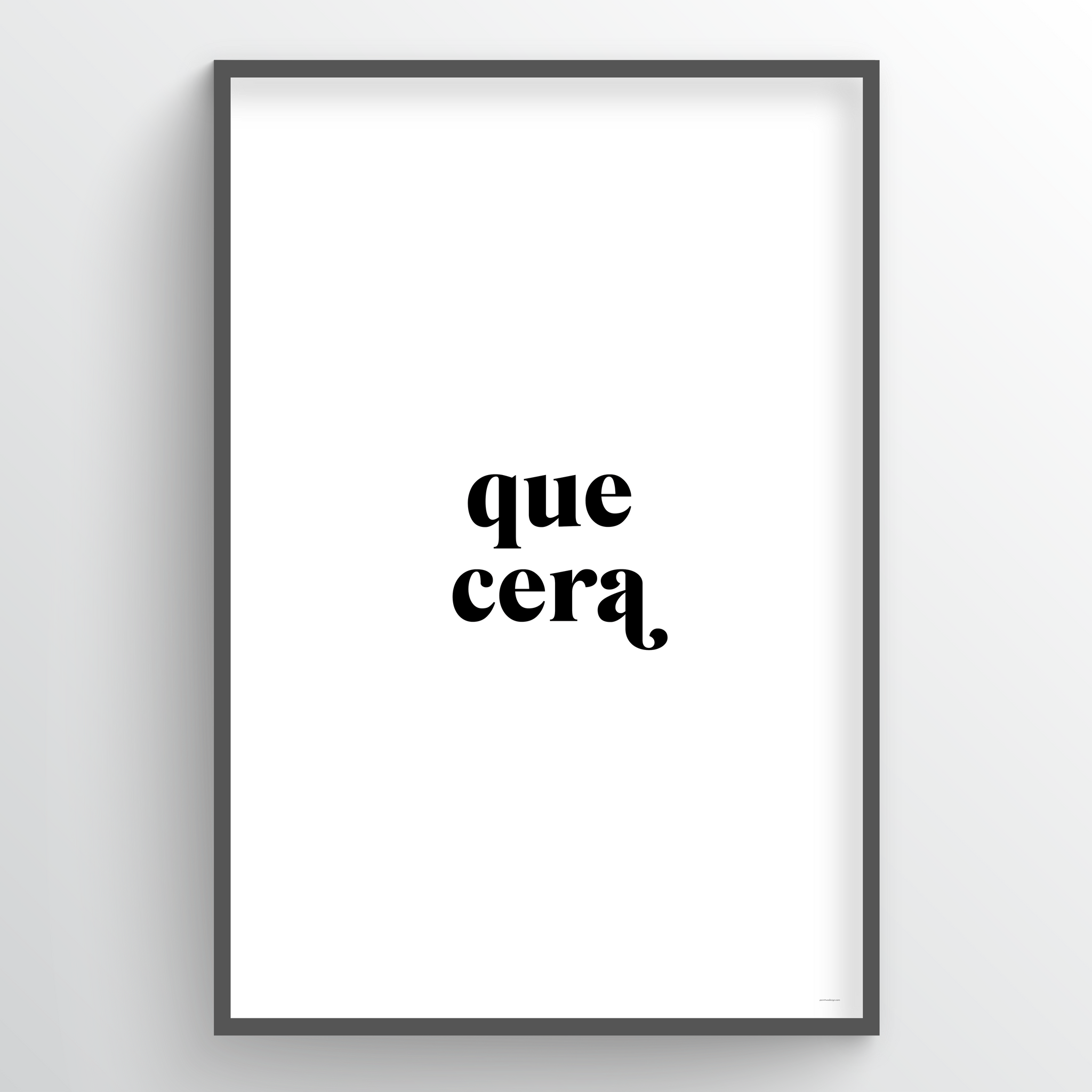 Point Two Design Group modern art prints: Que Cera Art Print