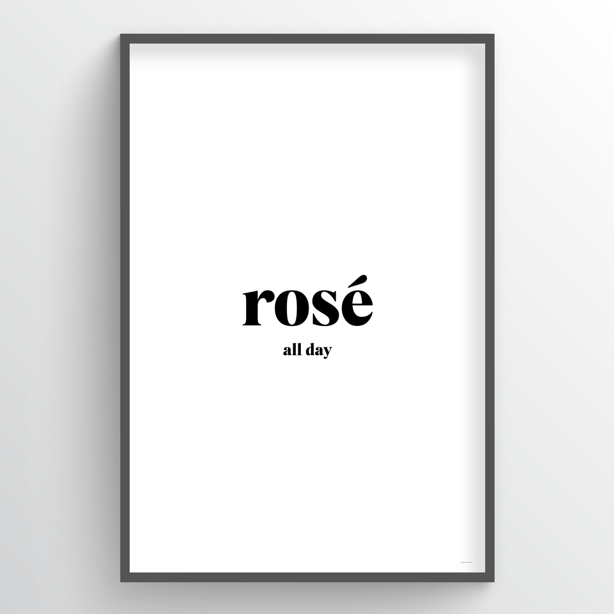 Point Two Design Group modern art prints: Rose Art Print