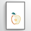 Point Two Design Group: Apple Art Print