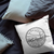 Kansas State Crest Throw Pillow