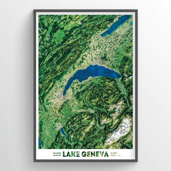 Lake Geneva - Fine Art