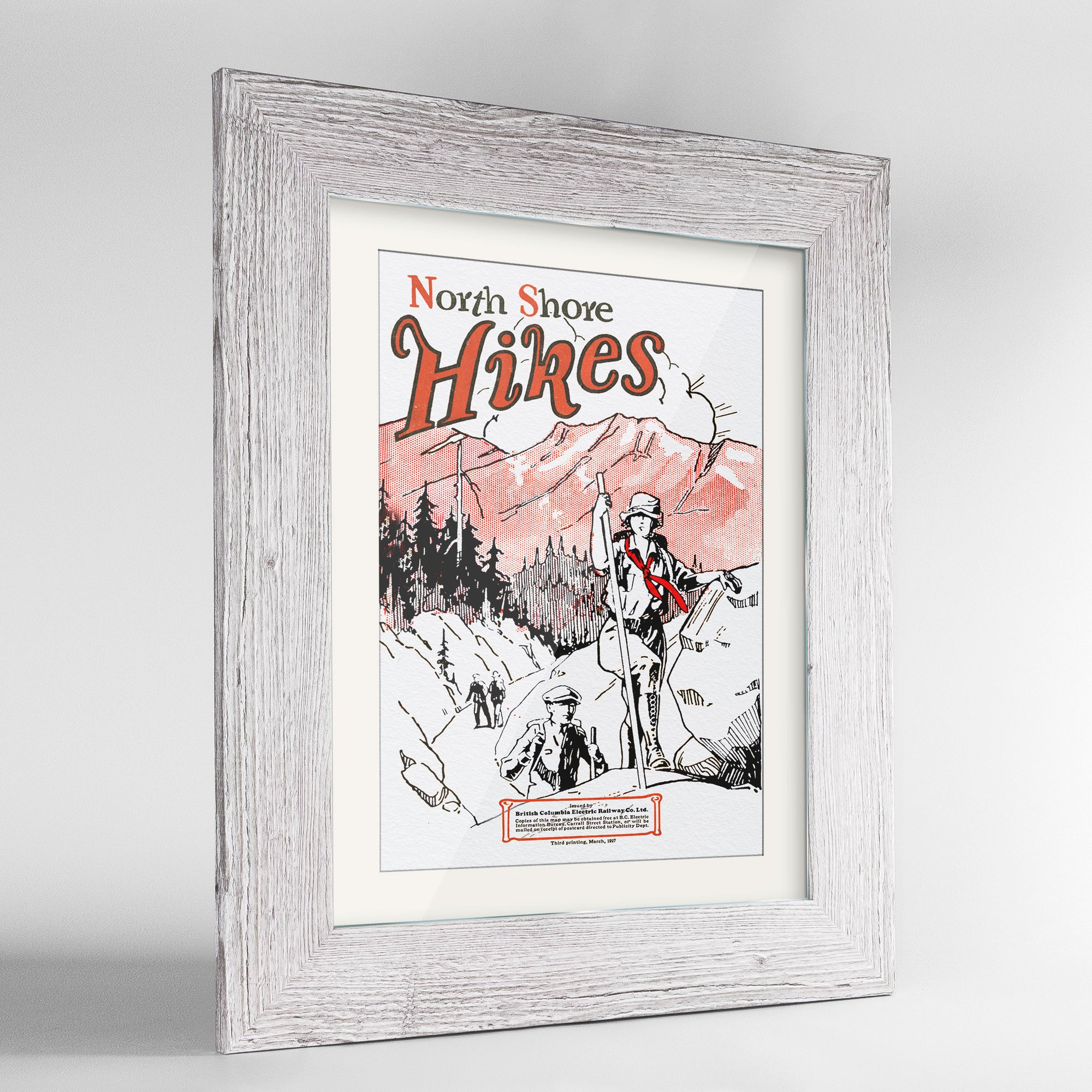 North Shore Hikes Print