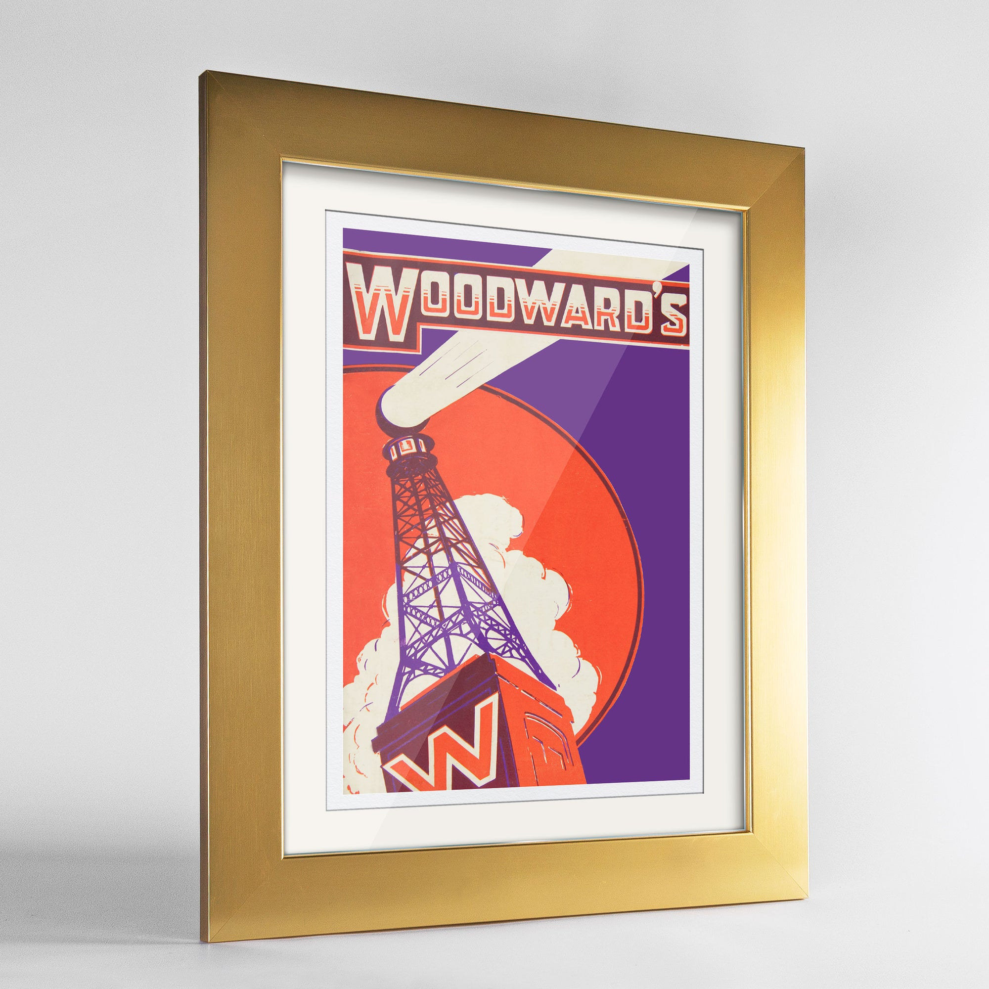 Woodwards Print