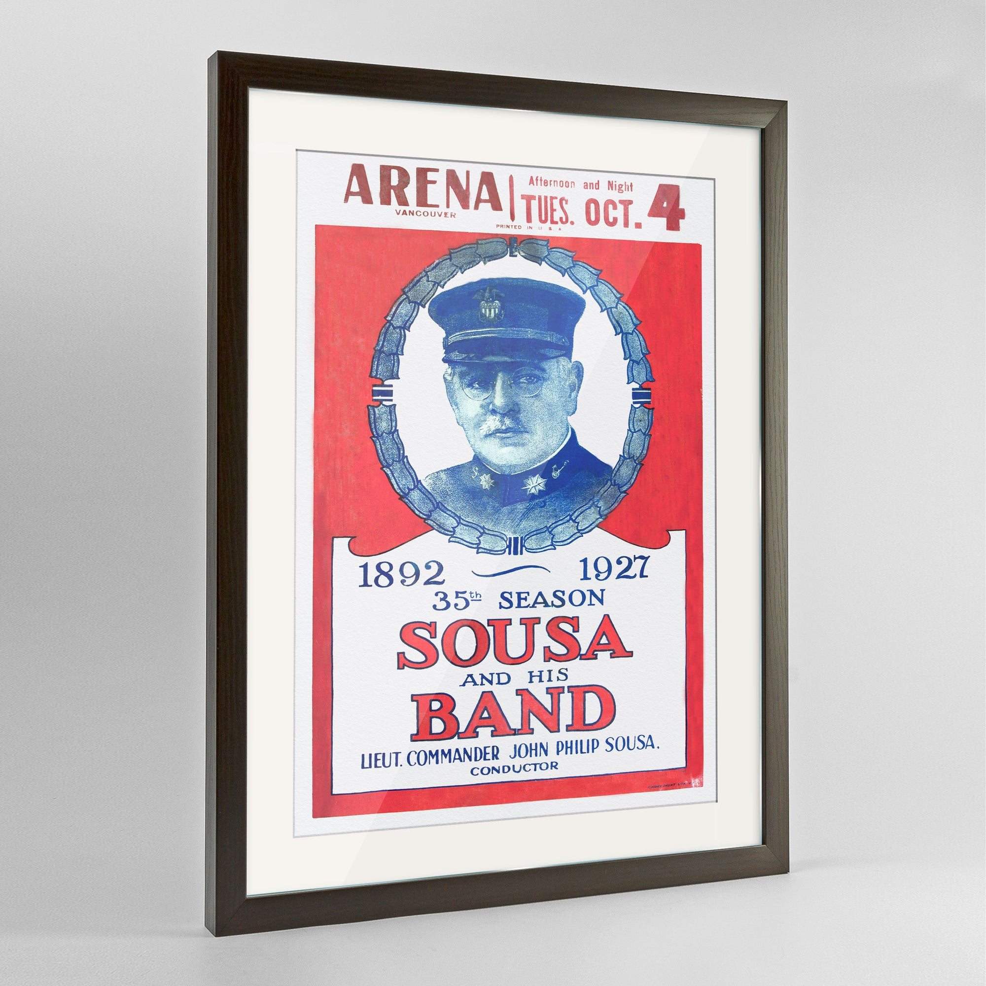 Sousa and the Band Print