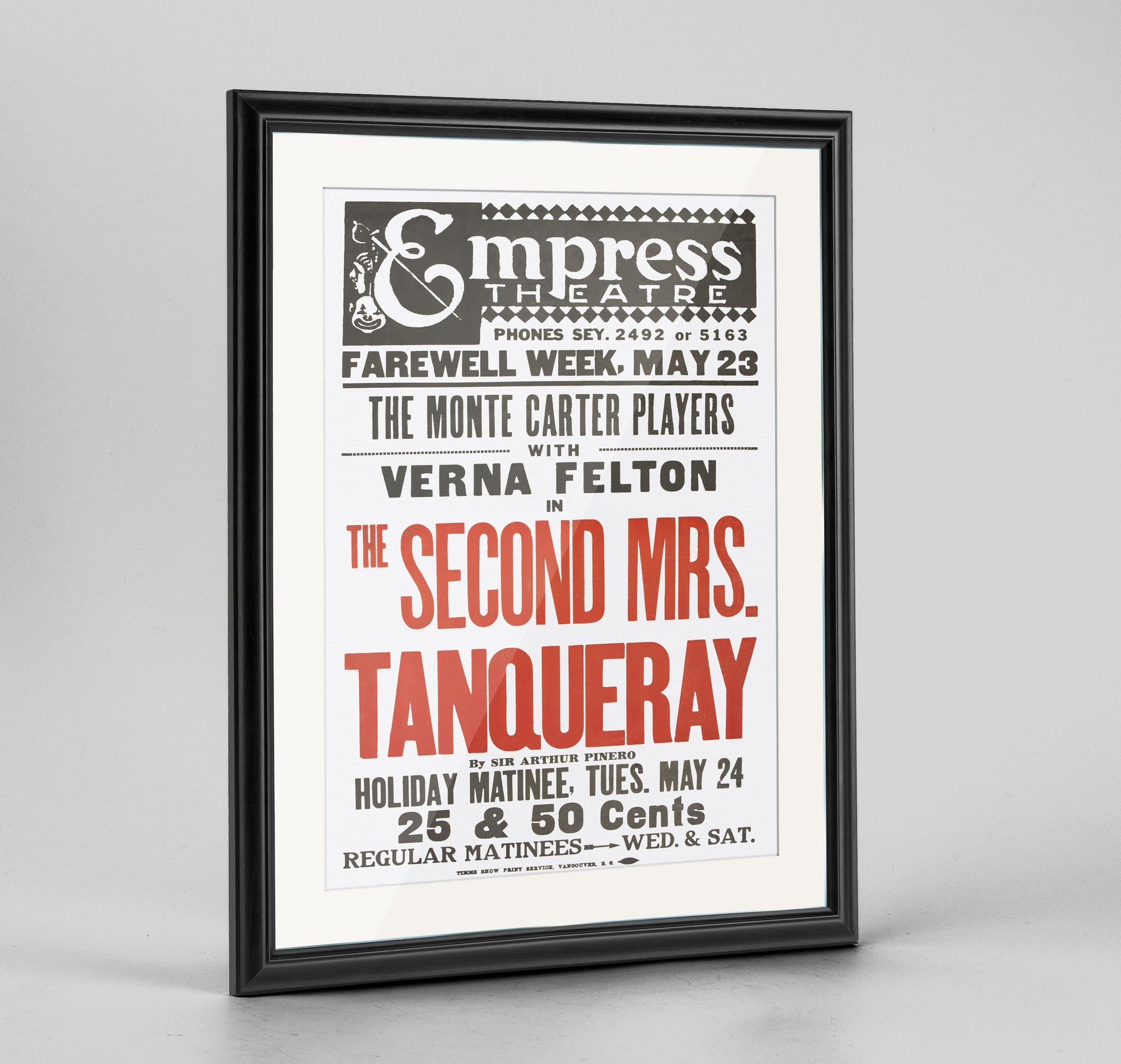 Mrs Tanqueray Print
