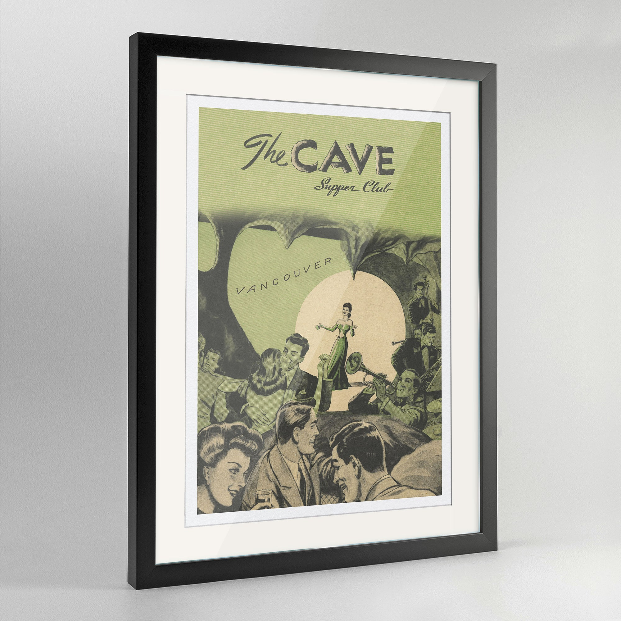 The Cave Print