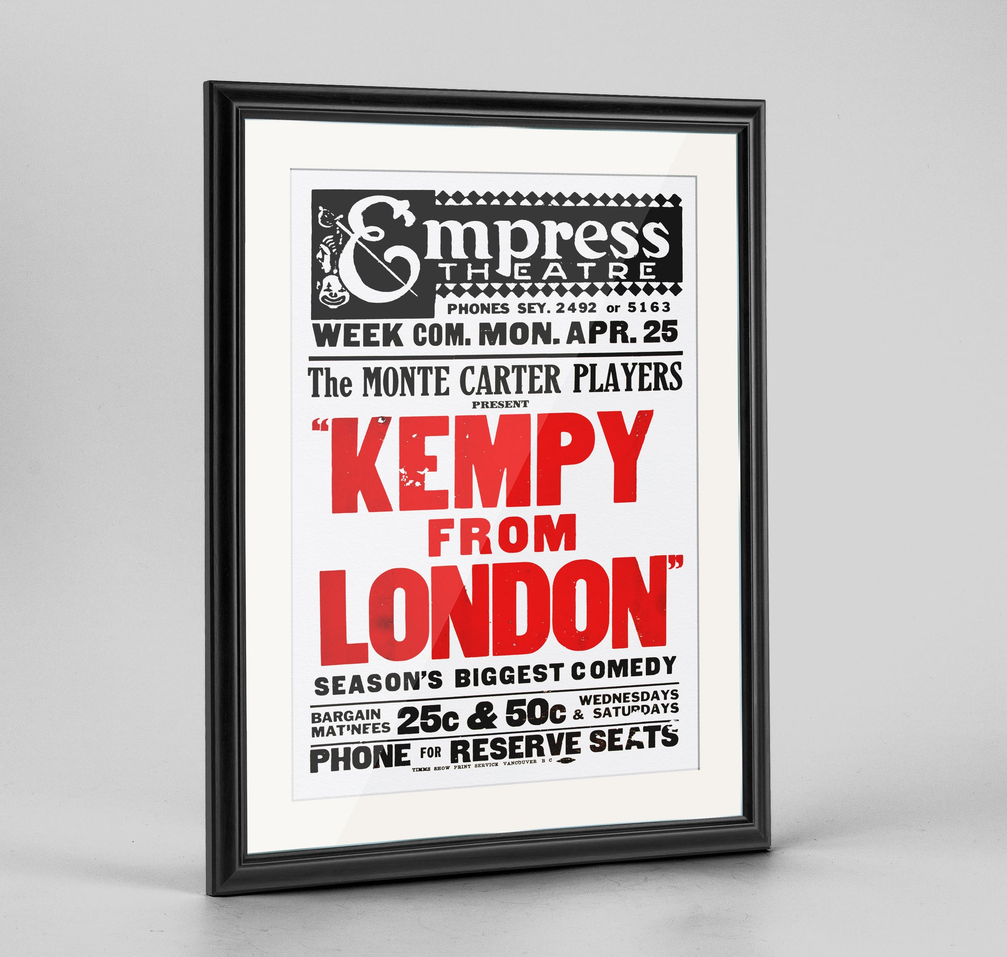 Kempy From London Print