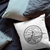 Massachusetts State Crest Throw Pillow