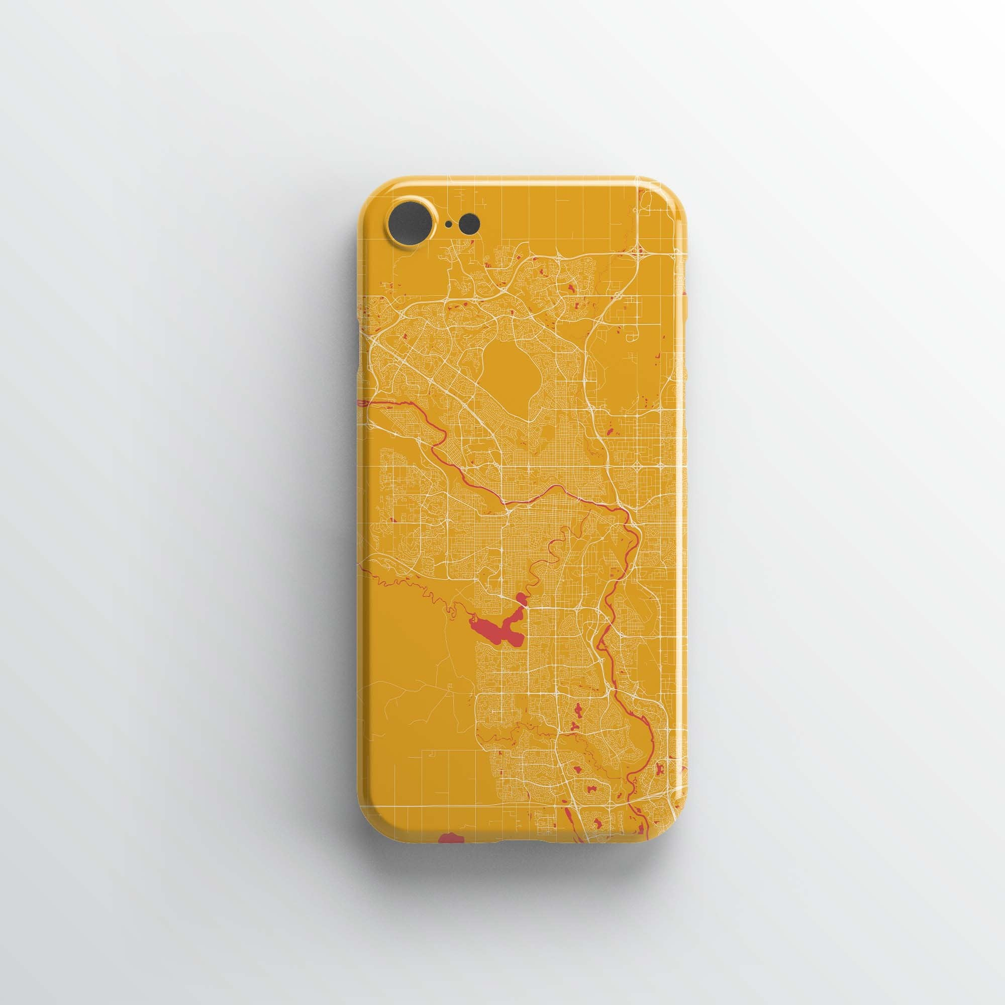 Calgary City iPhone Case - Point Two Design
