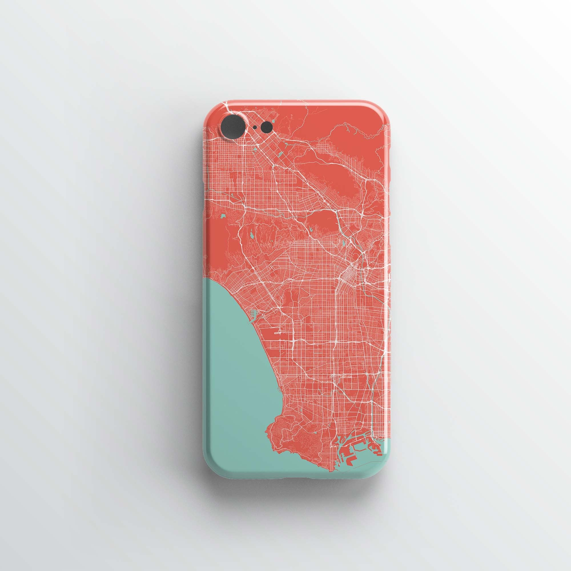 Los Angeles City iPhone Case