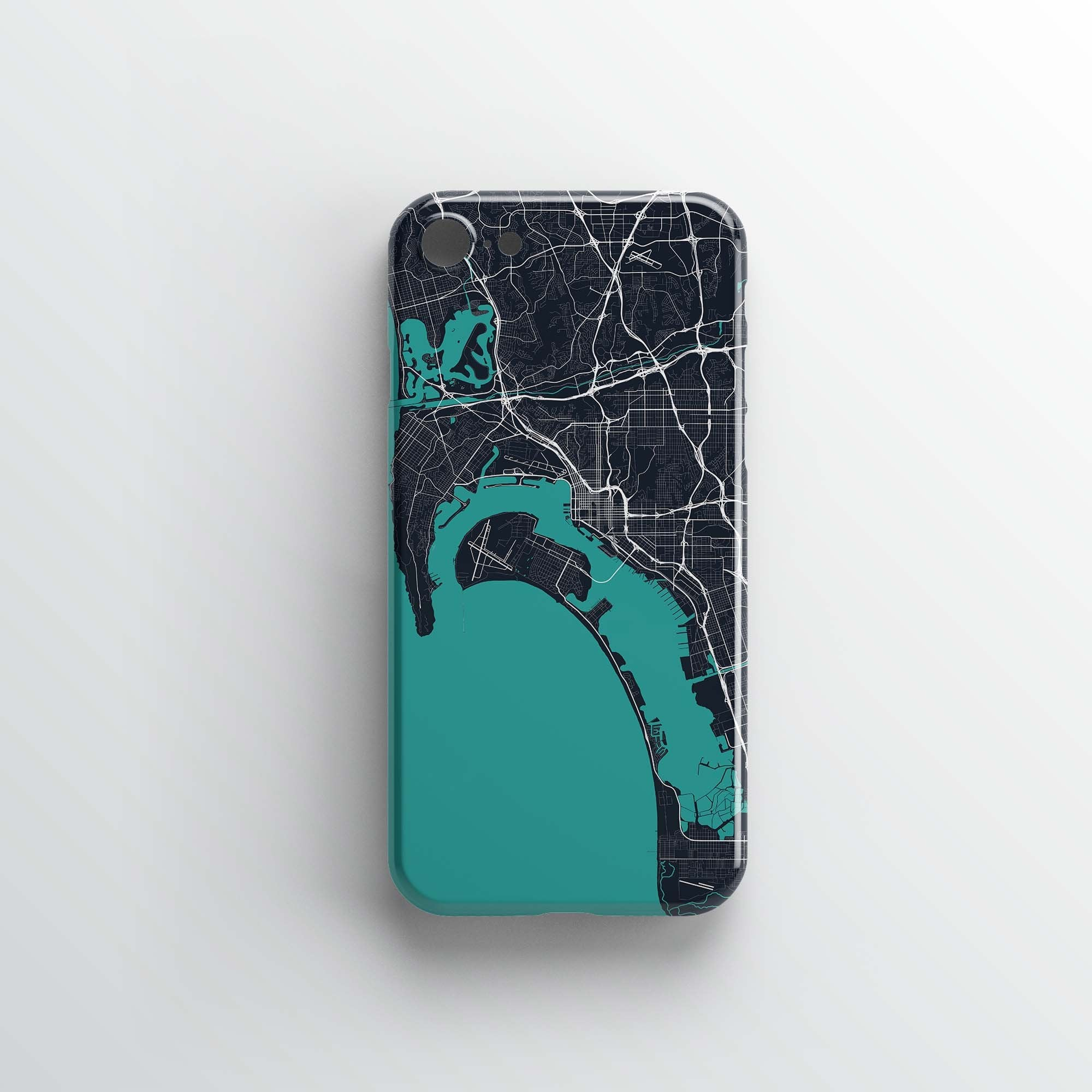 San Diego City iPhone Case