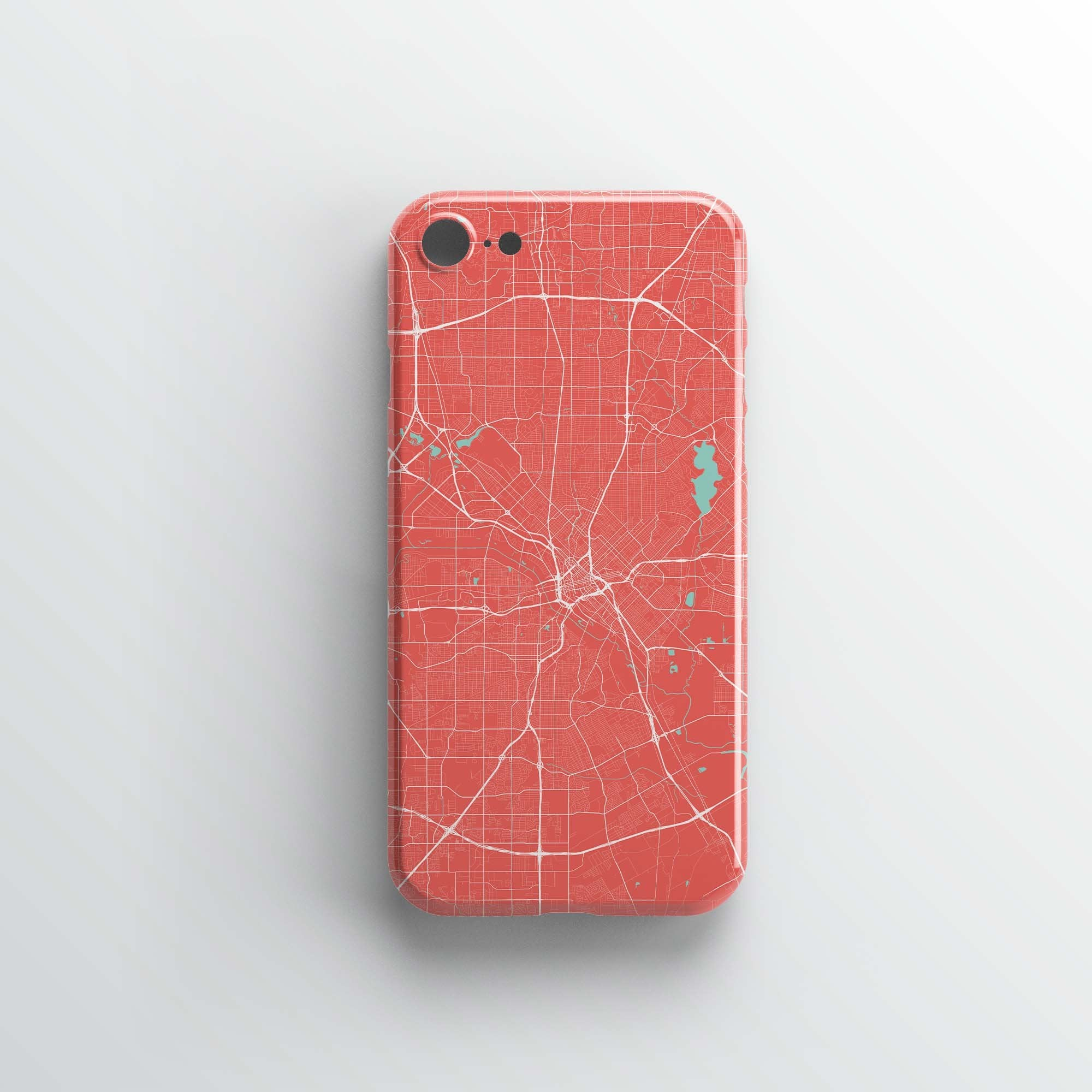 Dallas City iPhone Case - Point Two Design