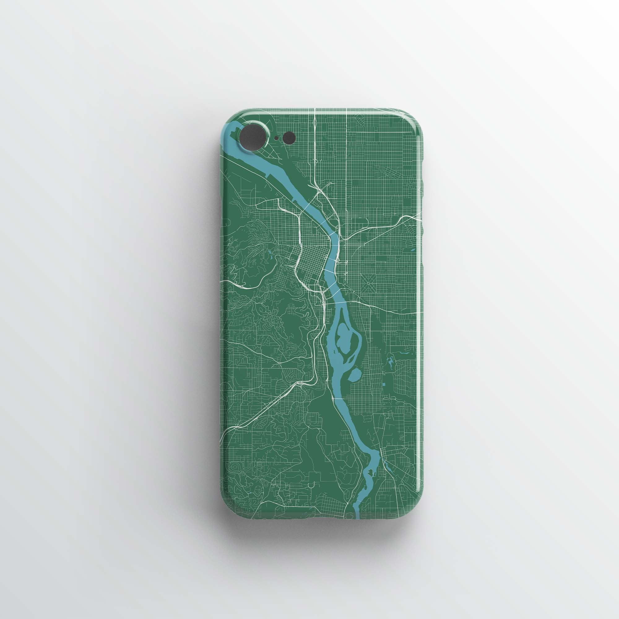 Portland City iPhone Case