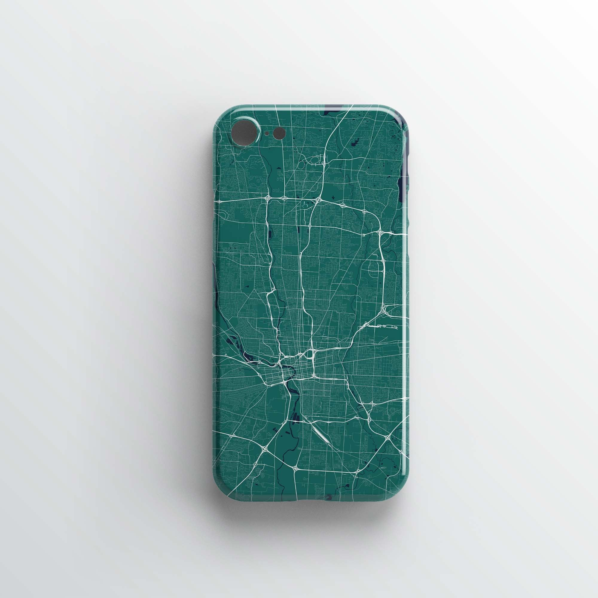 Columbus, OH City iPhone Case - Point Two Design