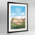 South Dakota State Frame Print