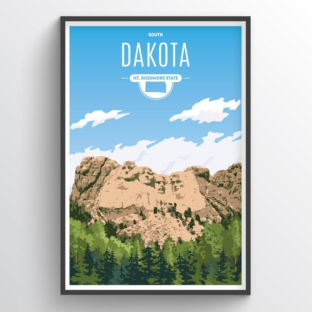 South Dakota State Print