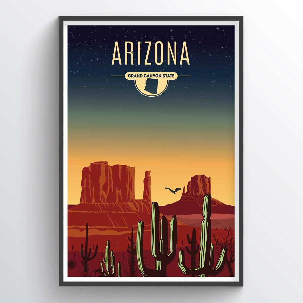 Arizona State Print - Point Two Design