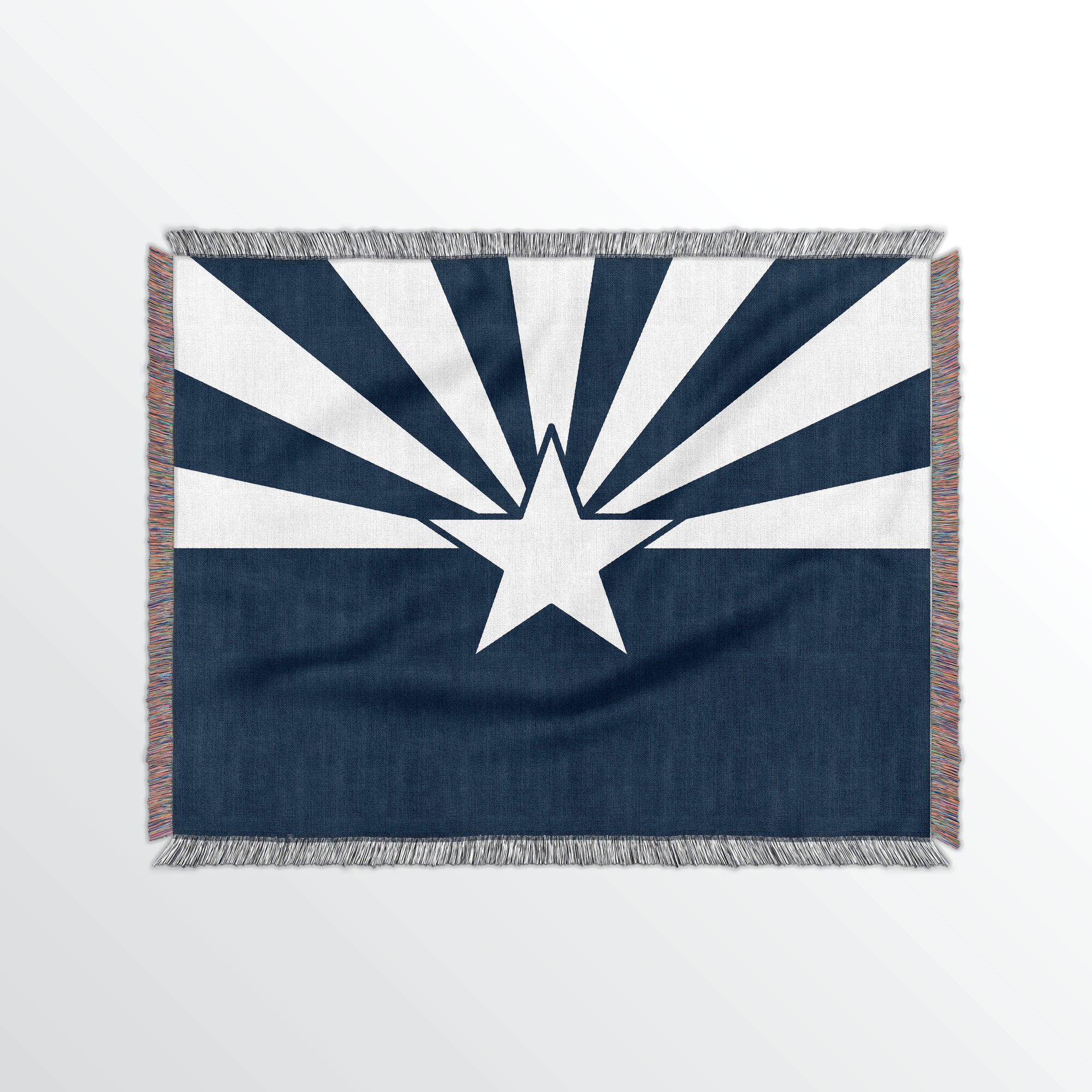 Arizona State Woven Cotton Blanet - Point Two Design