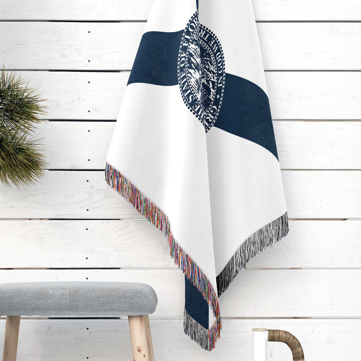Florida State Woven Cotton Blanket - Point Two Design